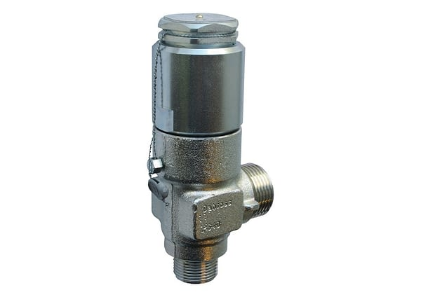 BSV 8, standardowa nastawa ciśnienia, z certyfikatem TÜV